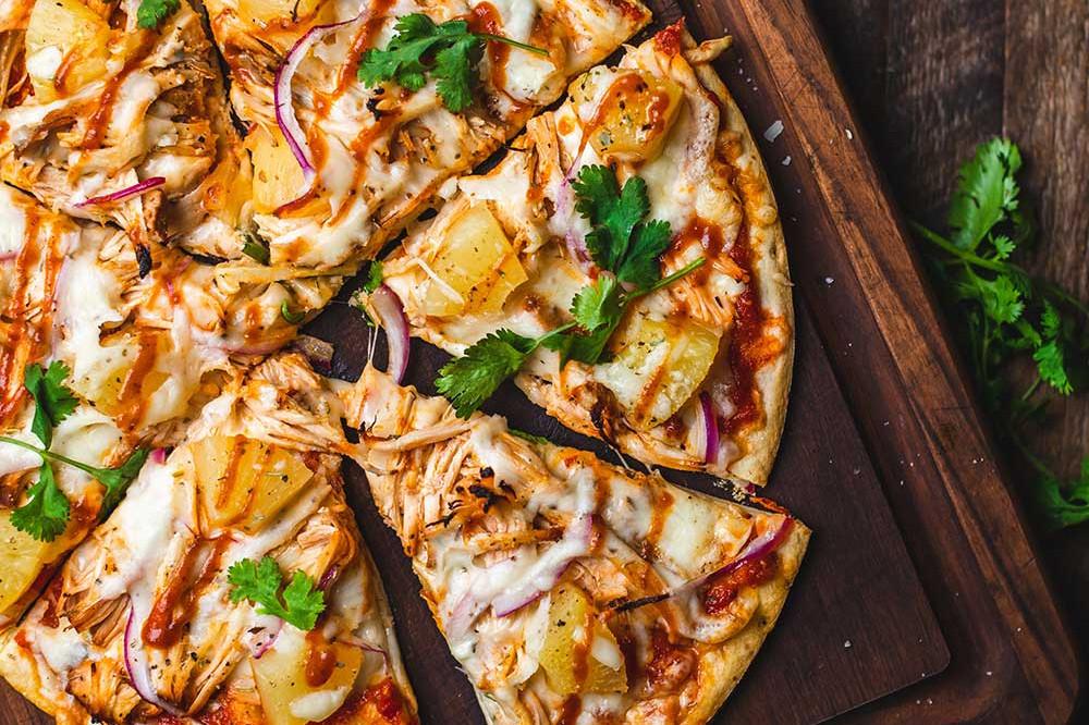 Pizza på grill